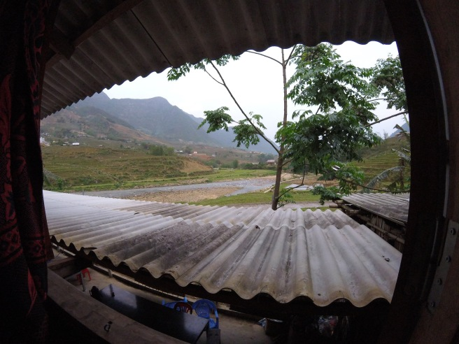 View from our homestay in Sapa