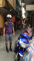 Phil & motorbike